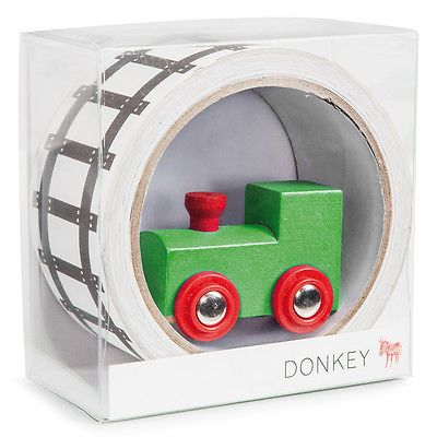 NEW Donkey Products My First Train Deco Tape