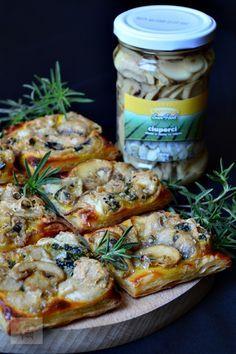 Aperitiv rapid cu ciuperci si brie | CAIETUL CU RETETE  #RetetaSunFood --> http://goo.gl/71JNwP