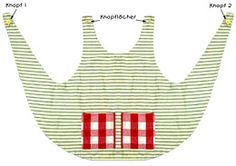 Pippi-Langstrumpf-Kostüm .... Bastel-Schneider-Seite mit Schnittmuster
