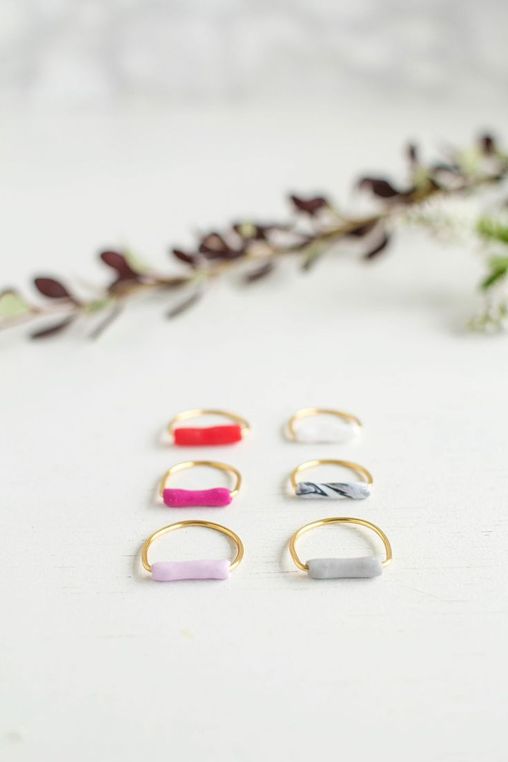 All it takes to create your next favorite piece of jewelry is a little clay and some inspiration! Here are 15 DIY jewelry pieces you'll love.