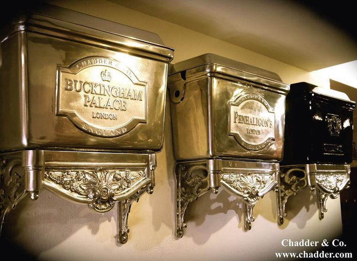 Chadder High/Low Level bespoke toilet cisterns. Customise the front plaque to your name, house name or favourite saying. #toilet…