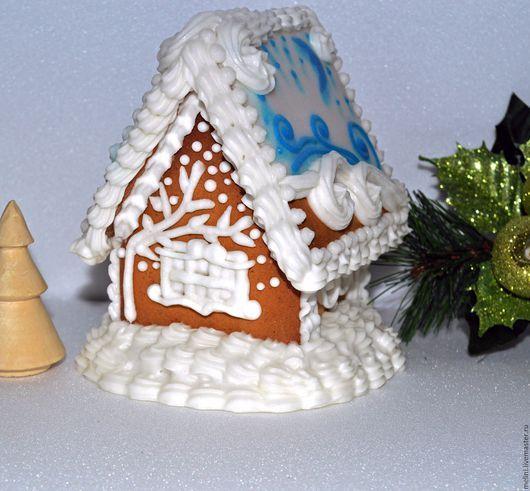 Perníkovej malý dom Biela modrá