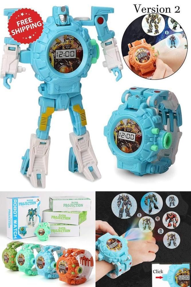 Toys For Boys Girls 3 4 5 6 7 8 9 11 12 Year Old Age Kids Toy Watch Robot Gifts Toys For Boys Kids Toys For Boys Trendy Toys