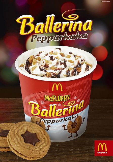 28 unusual and wonderful international McFlurry flavors. We all know that the McDonald's McFlurry is one of the premier soft serve desserts in the world, and the mind-boggling varieties of flavors is practically a language of love.