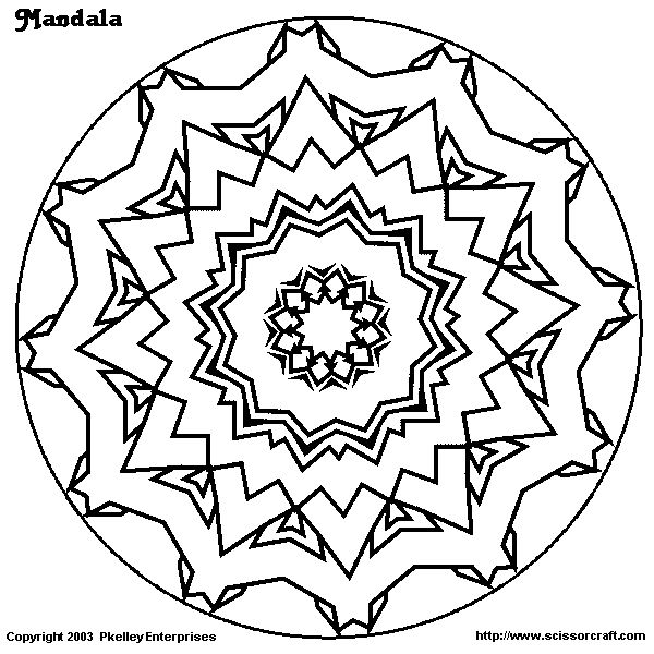 the eyes mandala coloring pages j
