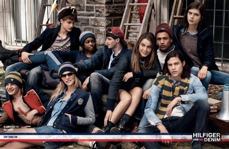 tommy denim fall3 800x520 Tommy Hilfiger Highlights College Life for Fall 2013 Denim Campaign