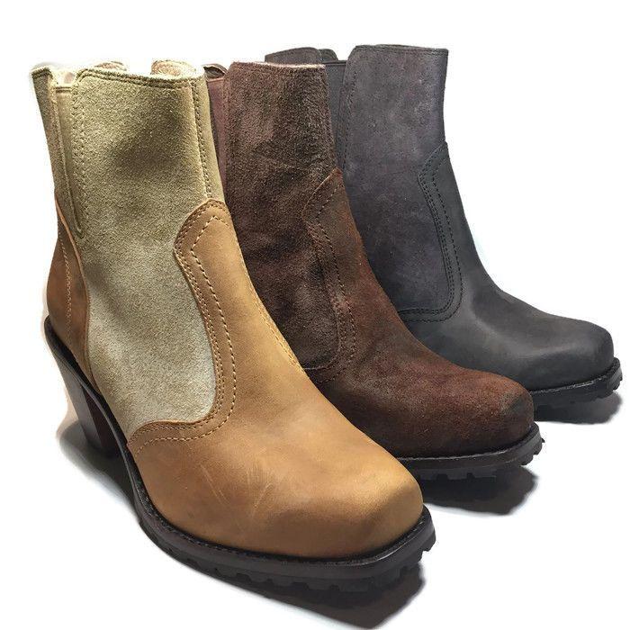 Woolrich Womens Kiva Cowboy Western Ankle Boots Size 7 M | eBay