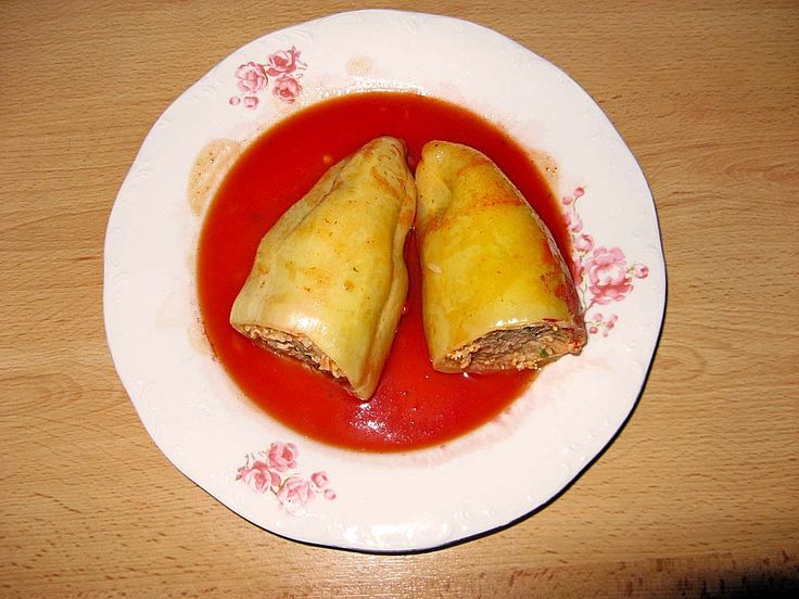 Gefüllte Paprika auf rumänische Art 1