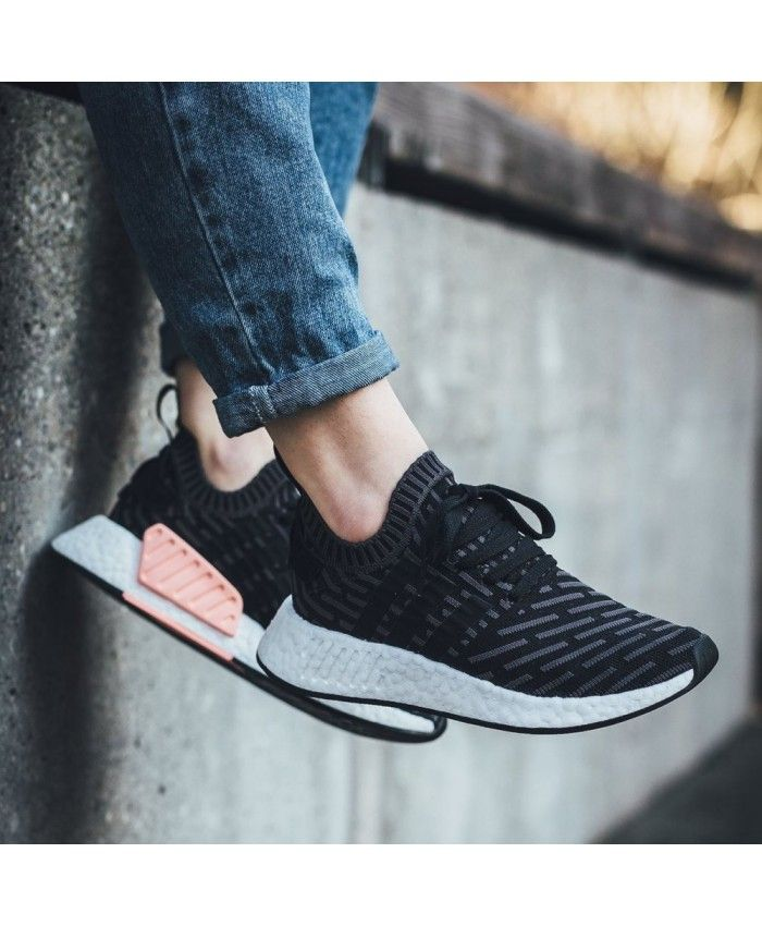 outlet store 61c13 6c1d6 Adidas NMD R2 PK W Utility Black White Pink UK