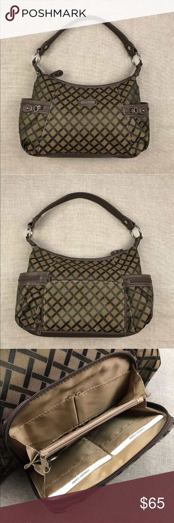 """Laura Scott Brown Plaid Hobo Shoulder Bag NWOT Laura Scott Brown Plaid Hobo Shoulder Bag NWOT  No flaws  Measurements: 14"""" x 9"""" x 5""""  Please, review pictures. You will get the item shown. Smoke & pet free home. Laura Scott Bags Shoulder Bags"""