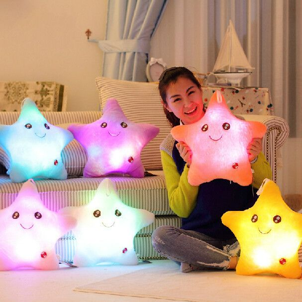 """7 colour creative luminous hold pillow gifts. Use this coupon code """"playbanovici"""" to get all 10% off!"""
