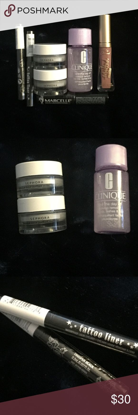 7 piece Face Bundle from Sephora Playbox NWT Clinique
