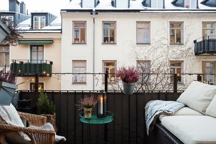 Очаровательная белая квартира в Стокгольме | Пуфик - блог о дизайне интерьера