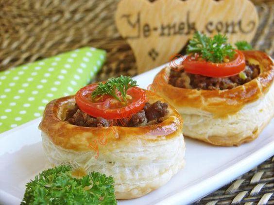 Kıymalı Volovan Tarifi - Fransız Böreği (Resimli Anlatım) | Yemek Tarifleri