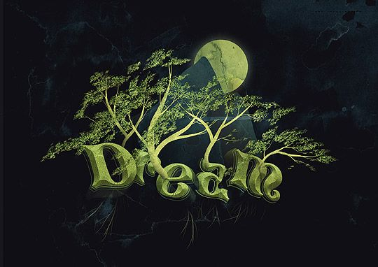 "3d typography tutorial ""DREAM"" using Illustrator to form the letters and then moving on to Photoshop for the rest.  Even the letters by themselves are pretty cool.  Found at gomediazine - http://www.gomediazine.com/tutorials/create-dream-design-3d-typography/#: Texts, Dreams, Typography Tutorial, Art, Adobe Illustrator, Photoshop Tutorials, Design, 3D Typography"