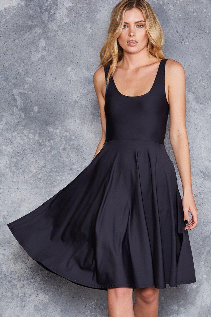 Matte Pocket Midi Dress