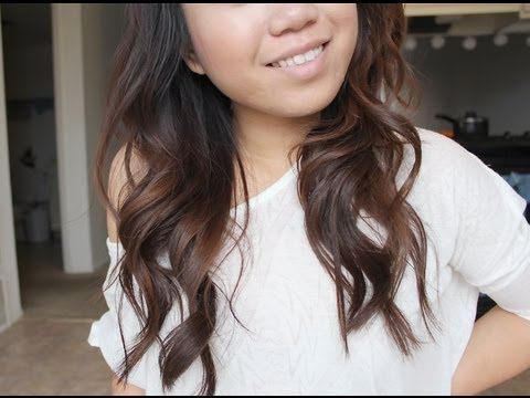 ▶ Quick & Easy Soft Loose Everyday Curls - How I curl my hair - YouTube