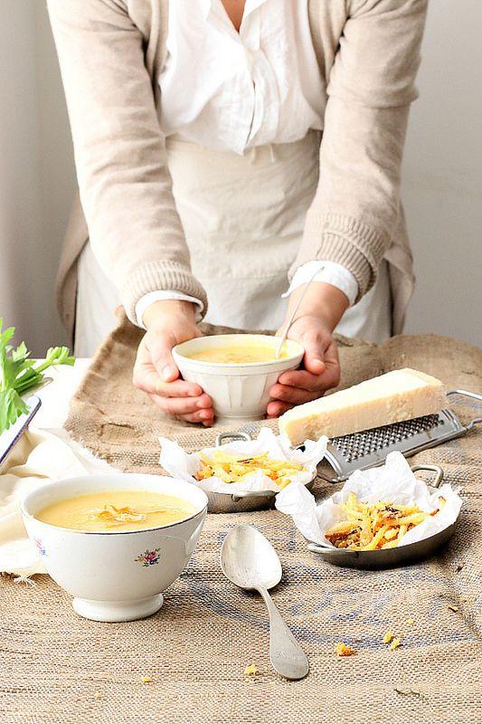 zuppa di sedano rapa