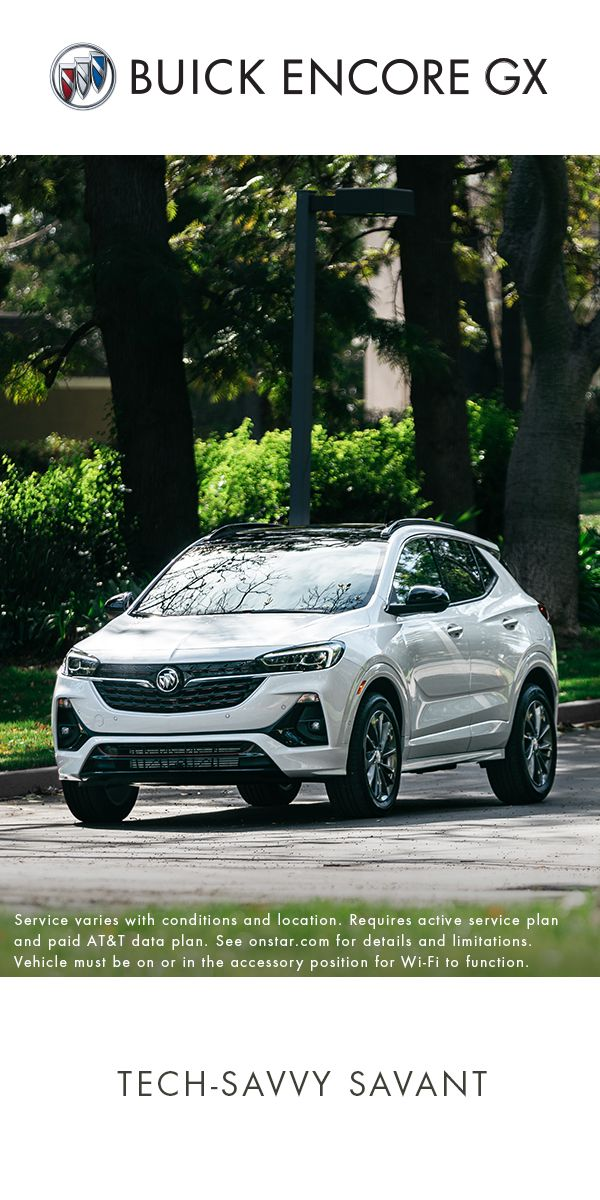 Let The First Ever Encore Gx Connect You Like Never Before Small Suv Buick Encore Buick