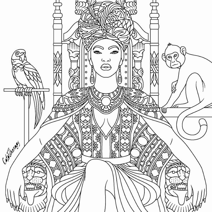 - African American Coloring Books Fresh 882 Best Beautiful Women Coloring  Pages For Adults Images On Pinterest In 2020 Coloring Books, Coloring  Pages, Free Coloring Pages