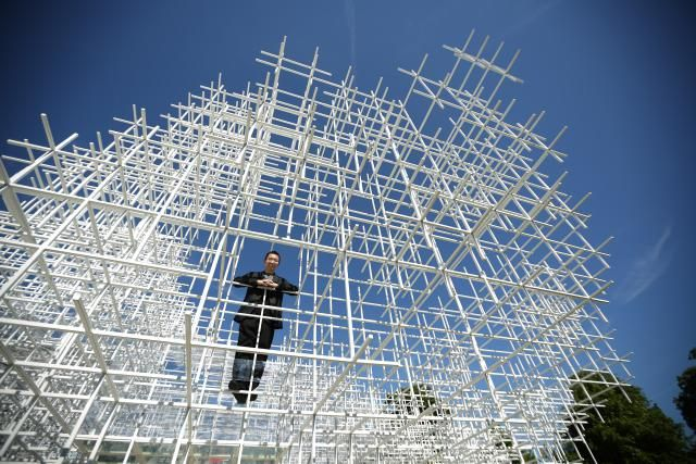 What Is an Architect?: Architect Sou Fujimoto in 2013 inside his Serpentine Gallery Pavilion, London, England