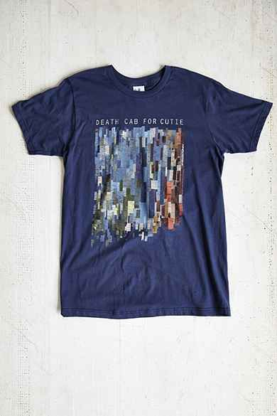 Junk Food Death Cab For Cutie Tee