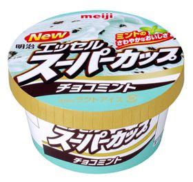 meiji エッセルスーパーカップ チョコミント