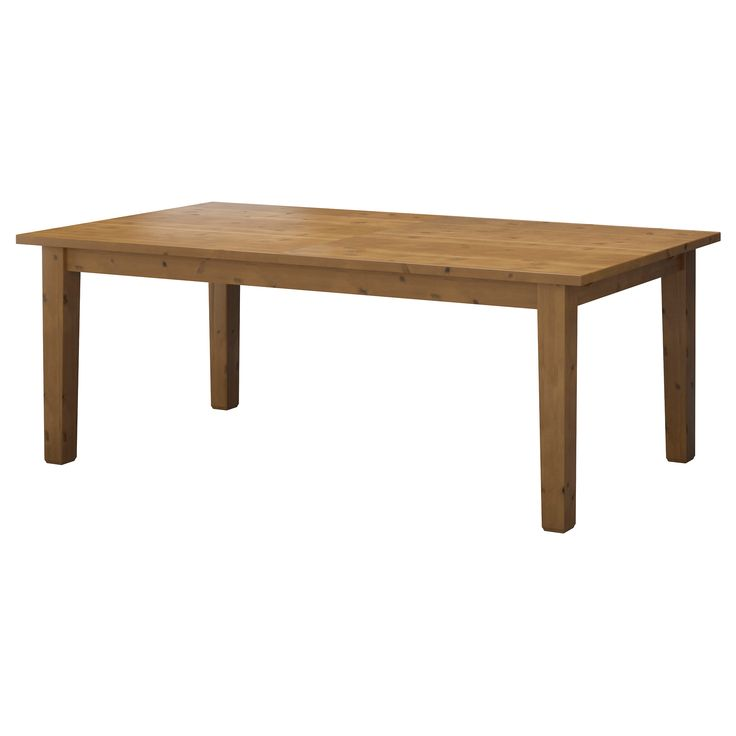 STORNÄS Dining table - in 2 stain colors.  Gah, why does Ikea always have to have the right dimensions?