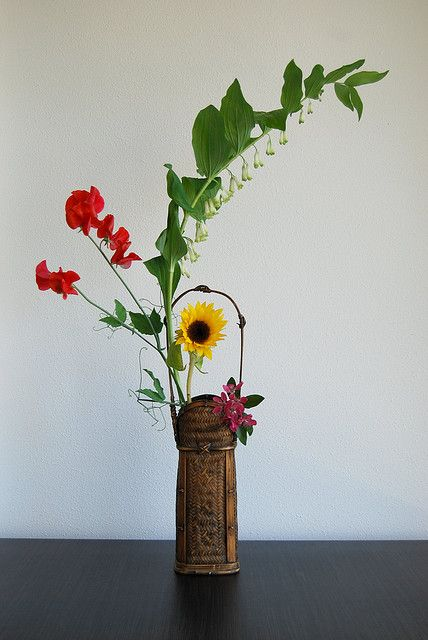 Ikebana 'a special day in April'