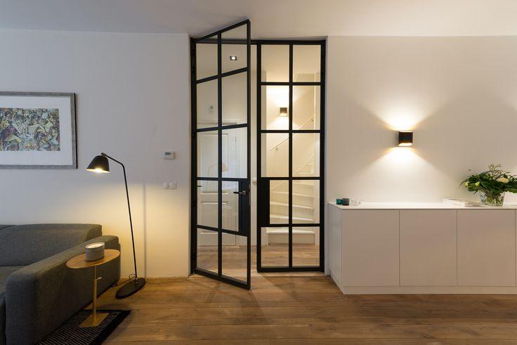 Meer dan 1000 idee n over dubbele deuren op pinterest toegangsdeuren voordeuren en - Hoe een rechthoekige woonkamer te voorzien ...