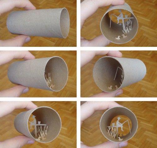 Bad-ass.Toilets Paper Tube, Tissue Rolls, Toilet Paper Rolls, Toilets Paper Rolls, Paper Art, Artists Inspiration, Crafts Inspiration, Paper Rolls Art, Anastassia Elias