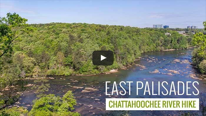 East Palisades Trail Hiking The Chattahoochee River