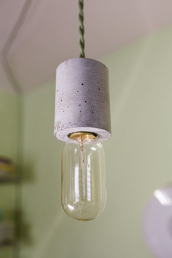 The Cylinder Pendant Light by GrahamBurns on Etsy