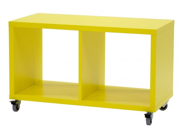 Regał Box III żółty — Regały Tenzo — sfmeble.pl #yellow #design #furniture