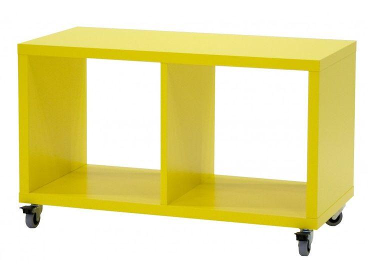 Regał Box III żółty — Regały Tenzo — sfmeble.pl #yellow #design #furniture