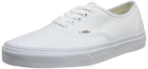 Oferta: 65€ Dto: -39%. Comprar Ofertas de Vans Authentic Zapatillas de Lona, Unisex, Blanco (True White), 43 barato. ¡Mira las ofertas!