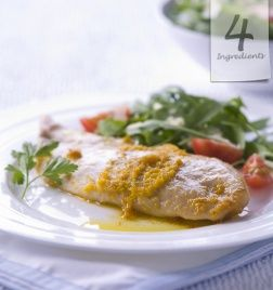 Grilled Fish with Buttery Orange Sauce ... It really is quite amazing how good a simple sauce of butter, orange juice and zest and white can tastes! Click the pin to learn how ... enjoy!