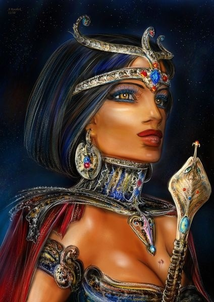 Curiously egyptian goddess facial products inquiry