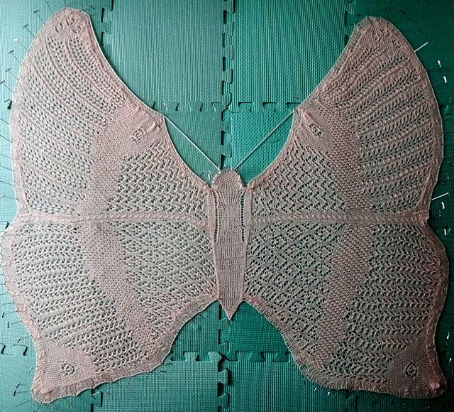 Knitting Pattern Butterfly : Best butterfly crochet and knit images on pinterest
