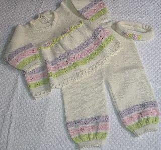 ROSE ENXOVAIS: Saco de dormir - Mantas trico a maquina - Vestido trico bebe -Conjunto trico