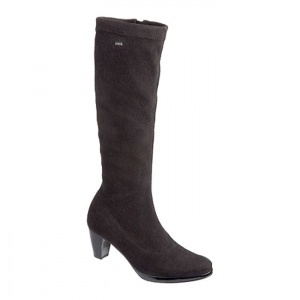 Womens Ara Tilly Ankle Boots Black Suede - ONLY $266.95