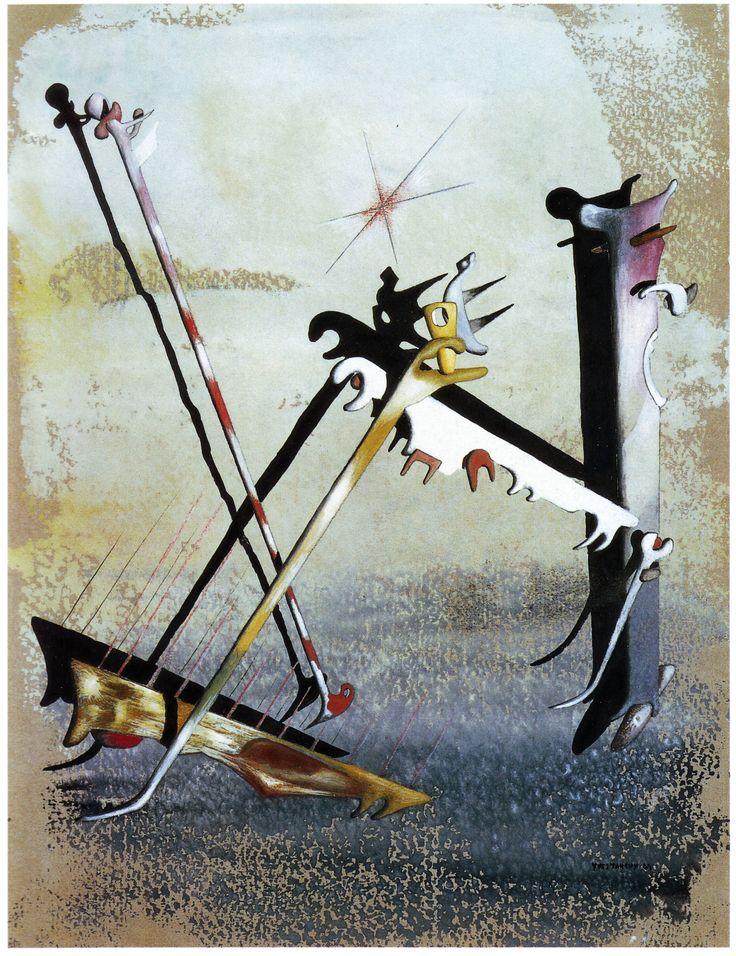 Yves Tanguy - 1947 - Sans titre