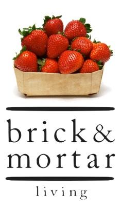 "Brick & Mortar Living ""Strawberry Love"""