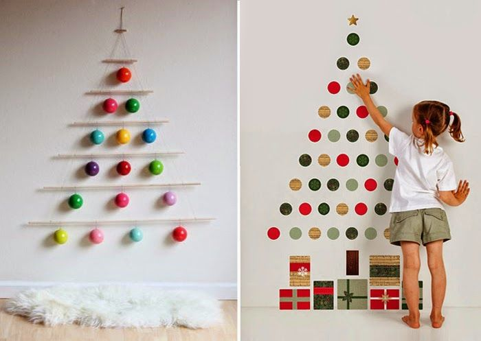 Новогодняя елка своими руками: 30 оригинальных идей