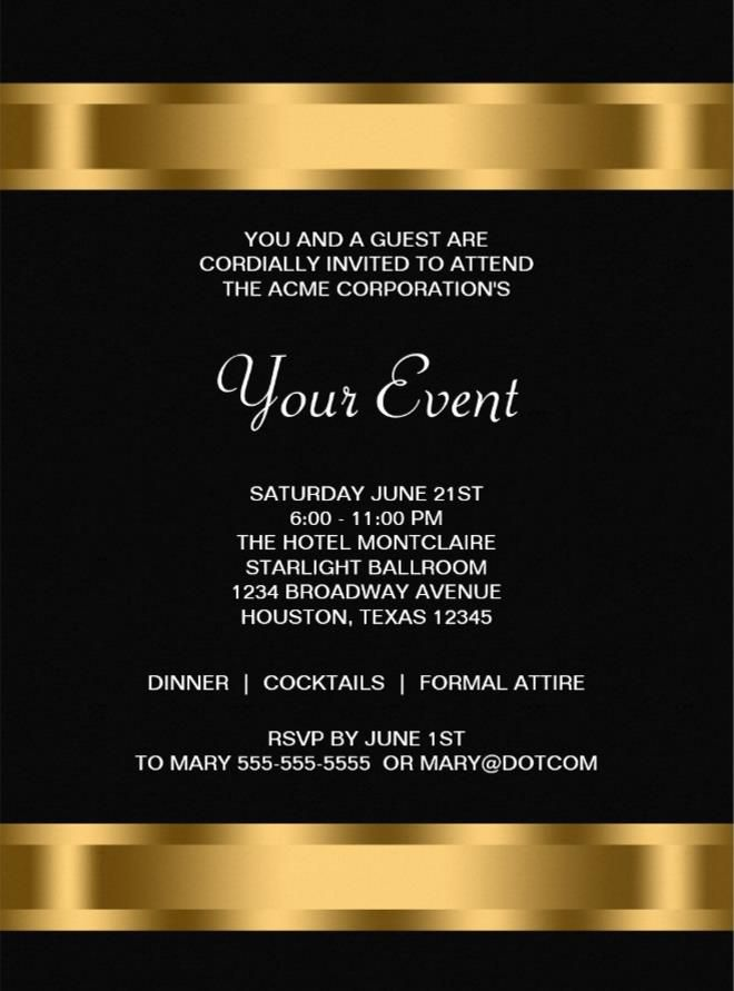 event invitation templates pacqco – Professional Invitation Template