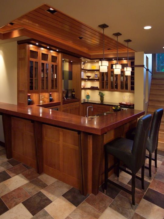 Prairie Inspired Lower Level Bar   Contemporary   Basement   Minneapolis    By Jeffrey Lindgren Part 95