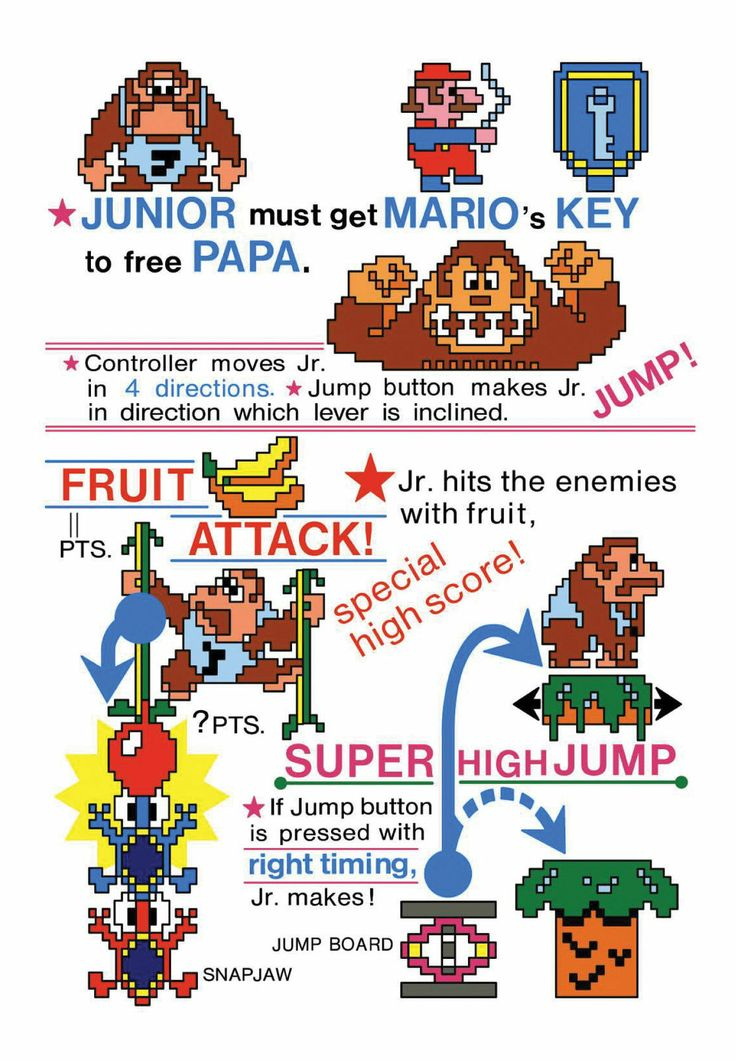 17 Best images about Donkey kong jr on Pinterest Arcade