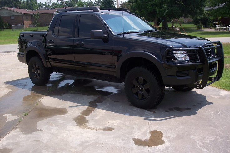 Ford explorer sport trac blacked out Man toys