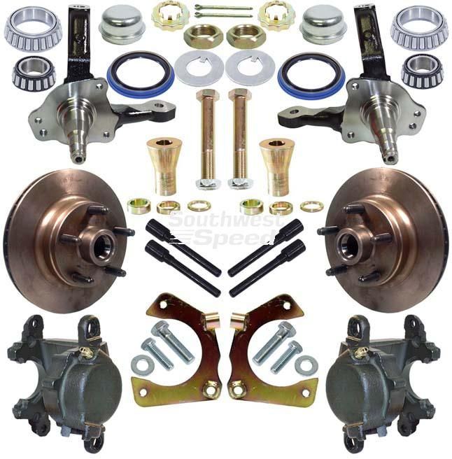 #HubAndSpindleKit  Find more high performance auto parts today at http://www.southwestspeed.com/index.php?sec=view_menu&cat=Hubs%20And%20Brakes&sub=Brake%20Rotors&ssub=!Stock%20Front%20Hubs%20and%20Rotors&sssub=!!!!Racing%20Granada%20Hub%20and%20Spindle%20Kits