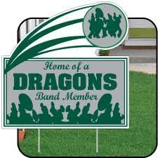band Yard signs